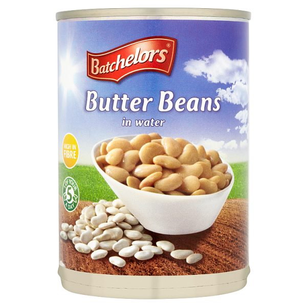 Batchelors Butter Beans in Water 400g (Drained Weight 235g)