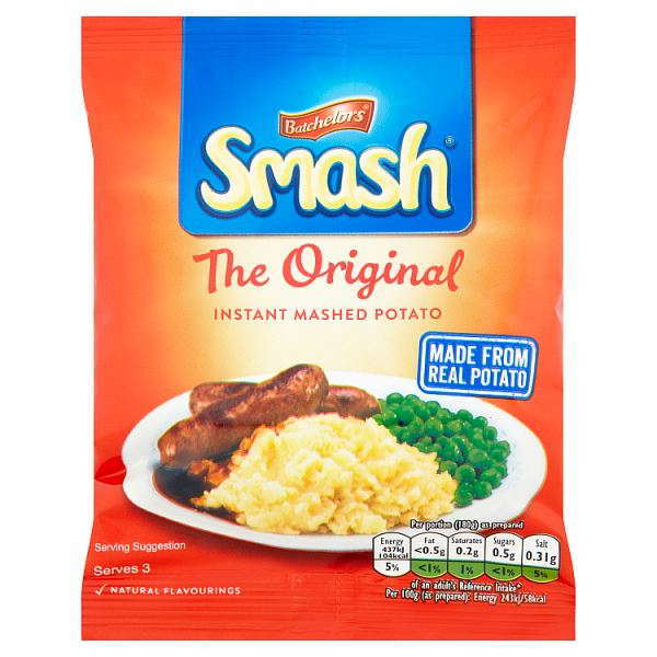 Batchelors Smash Original Instant Mash Potato 88g
