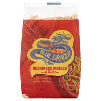 Blue Dragon Medium Egg Noodles 4 Blick 250g