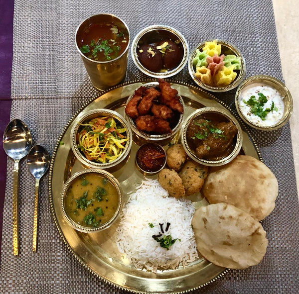 Meat thali Dinner (Meal for 2)