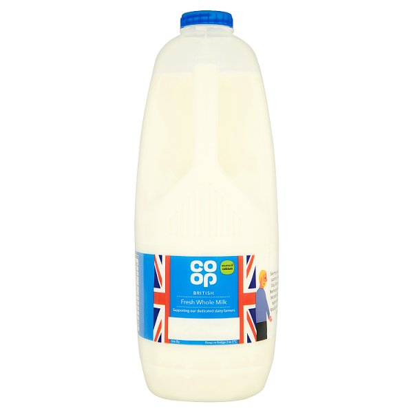 CO OP FRESH WHOLE MILK 6PT