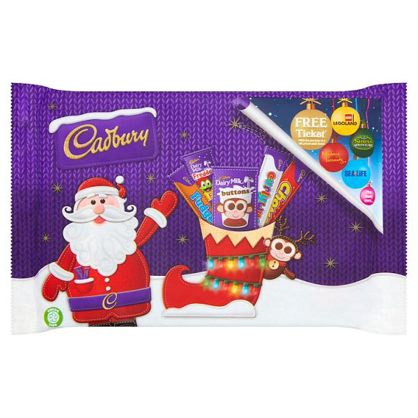 Cadbury Dairy Milk Small Chocolate Selection Pack 89g.