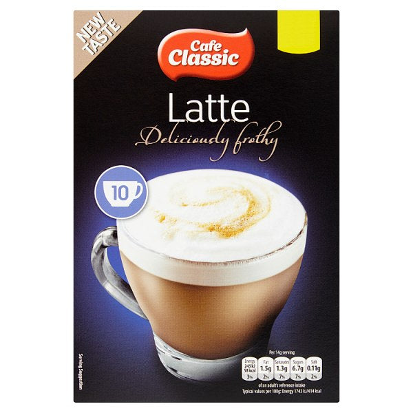 Cafe Classic Latte 10 x 14g (140g)