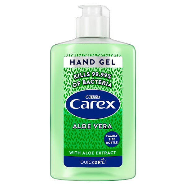 Carex Aloe Vera Sanitising Antibacterial Hand Gel 300ml