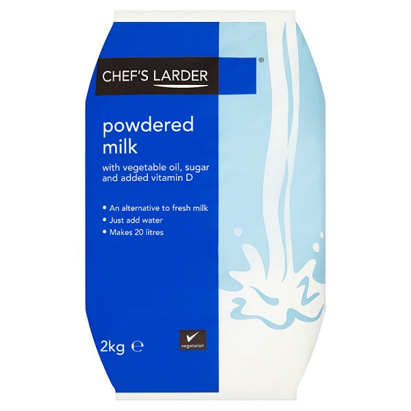 Chef's Larder Powdered Milk 2kg