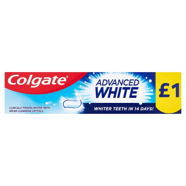 Colgate Toothpaste Advanced White 50ml