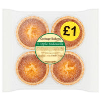Cottage Bakery 4 Apple Bakewells 175g