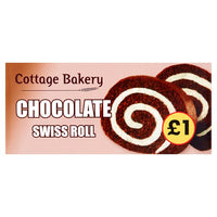 Cottage Bakery Chocolate Swiss Roll 200g