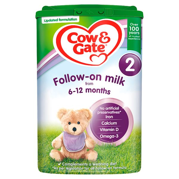 Cow & Gate 2 follow on milk from 6-12 months 800g