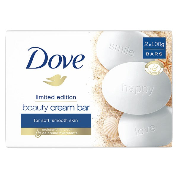 Dove Original Beauty Cream Bar 2X 100g