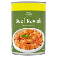 Happy Shopper Beef Ravioli in Tomato Sauce 400g