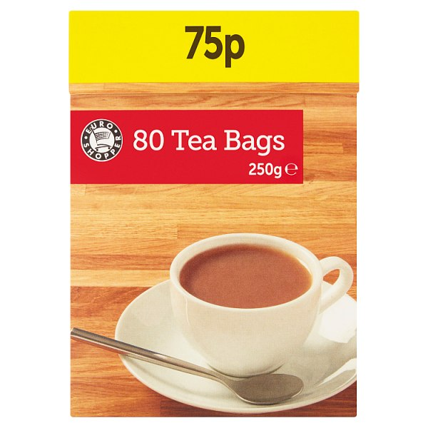 Euro Shopper 80 Tea Bags 250g