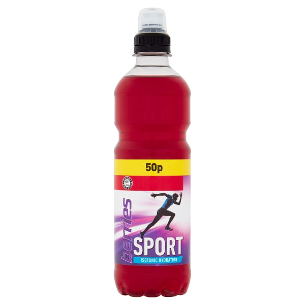 Euro Shopper Berries Sport Isotonic Hydration 500ml