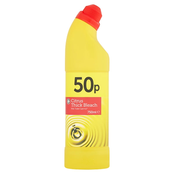 Euro Shopper Citrus Thick Bleach 750ml