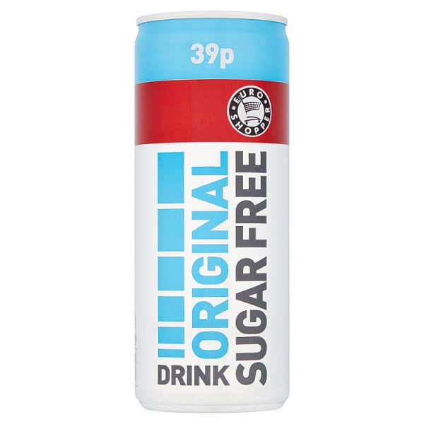 Euro Shopper Original Sugar Free Drink 250ml