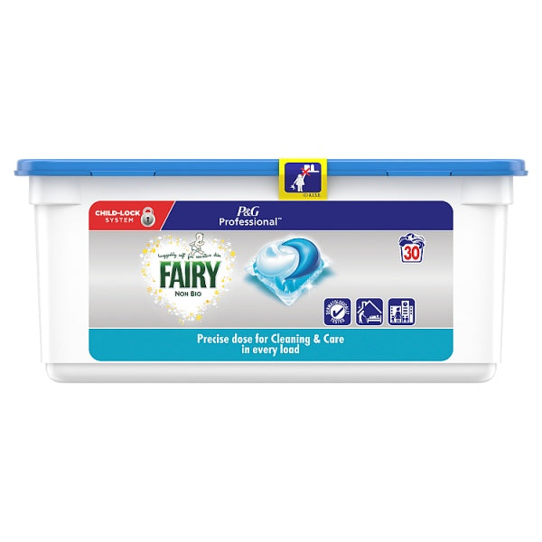 Fairy Non Bio Pods Washing Liquid Capsules 90 Washes