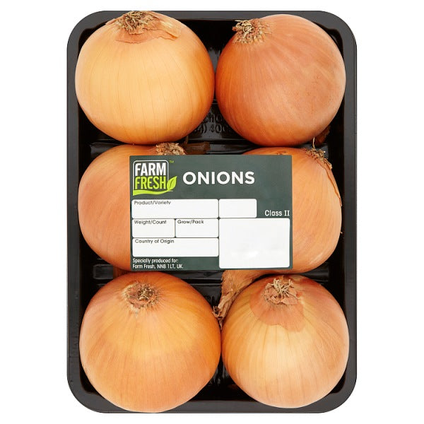 Farm Fresh 6 Cooking Onions
