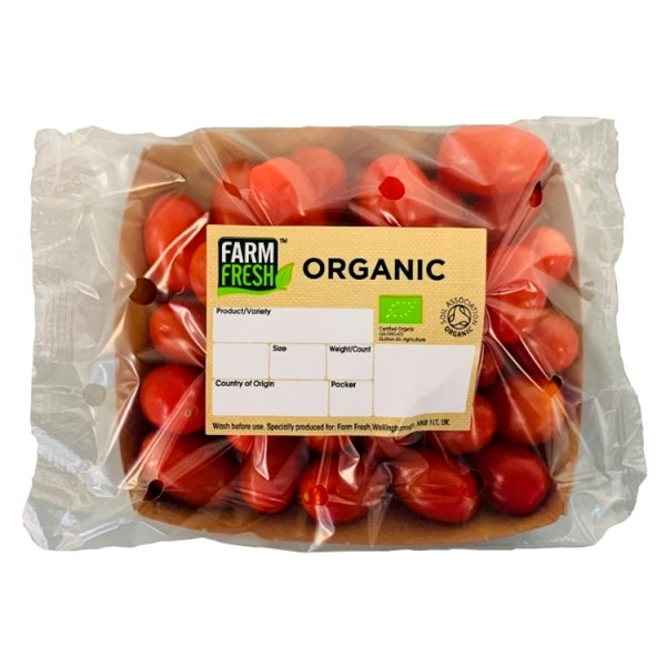 Farm Fresh Organic Plum Tomatoes