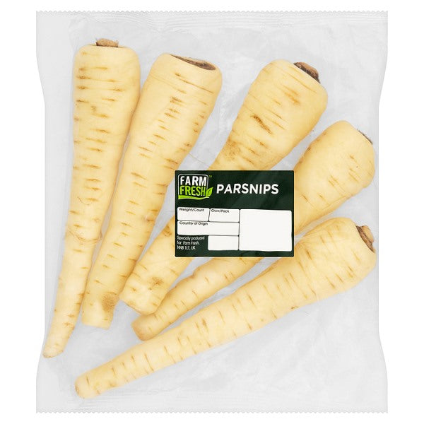 Farm Fresh Parsnips