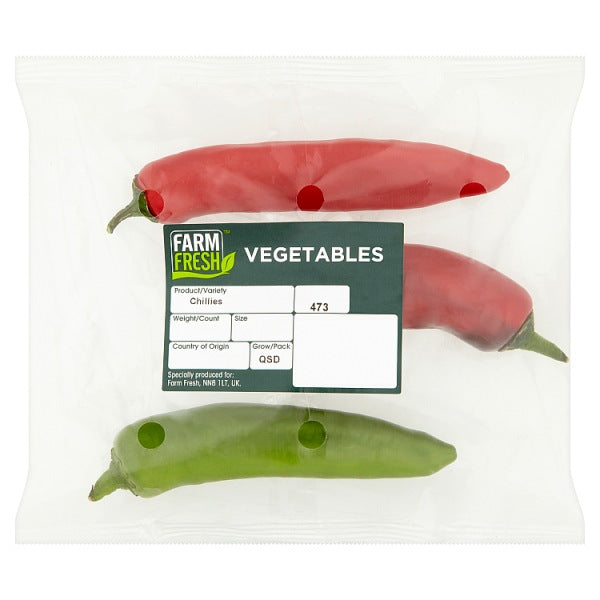 Farm Fresh Vegetables Chillies