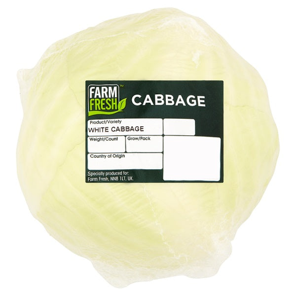 Farm Fresh White Cabbage