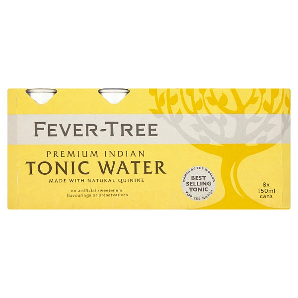 Fever-Tree Premium Indian Tonic Water 8 x 150ml