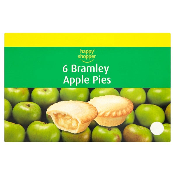 Happy Shopper 6Bramley Apple Pies