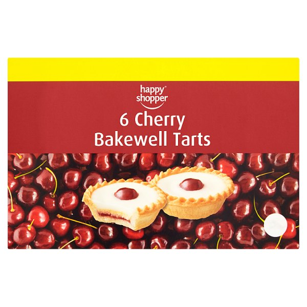 Happy Shopper 6 Cherry Bakewell Tarts