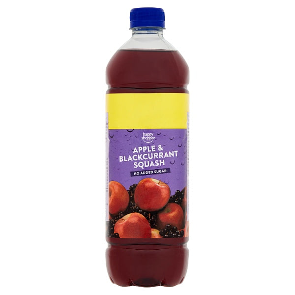 Happy Shopper Apple & Blackcurrant Squash 1 Litre
