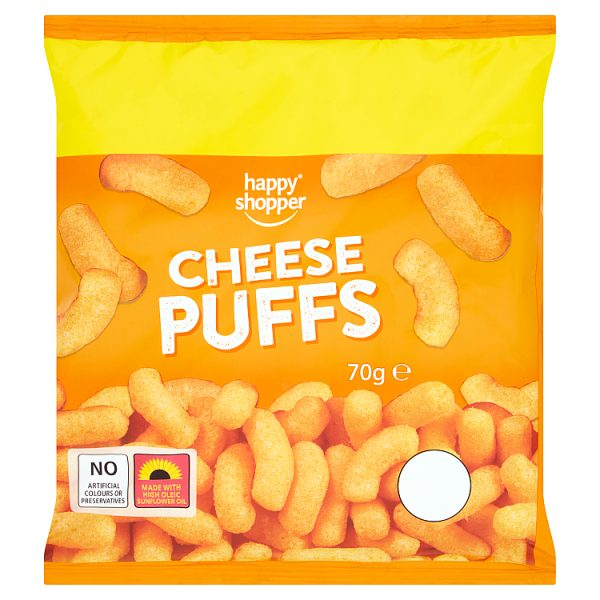 Happy Shopper Cheese Puffs 70g