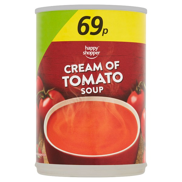 Happy Shopper Cream of Tomato Soup 400g