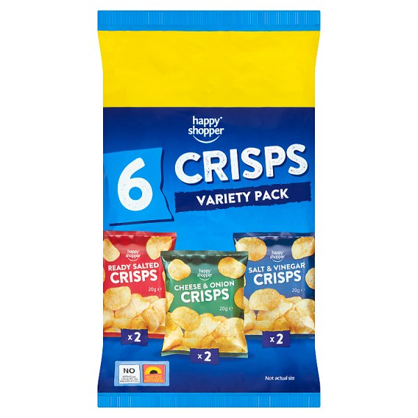 Happy Shopper Crisps Variety Pack