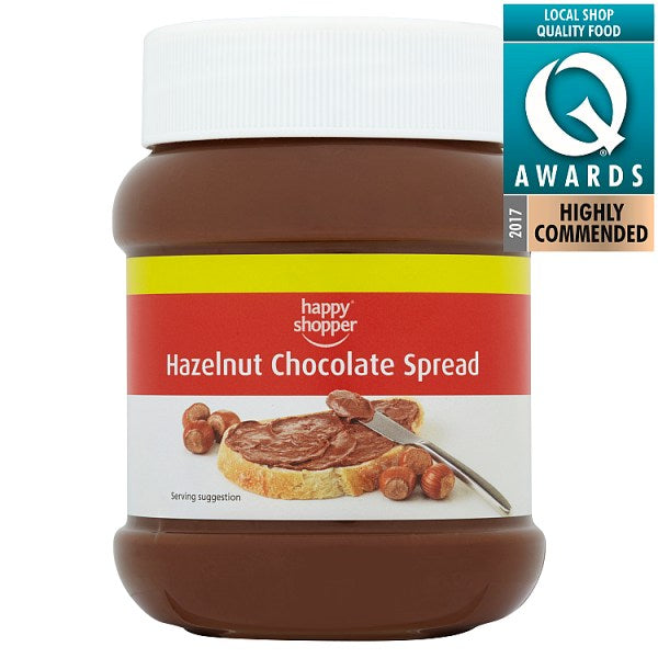 Happy Shopper Hazelnut Chocolate Spread 400g