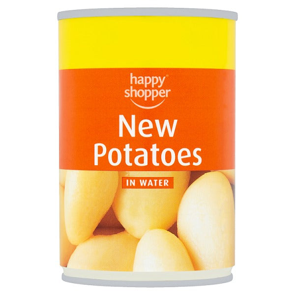 Happy Shopper New Potatoes in Water 300g (Drained Weight 180g)