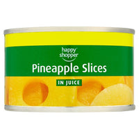 Happy Shopper Pineapple Slices in Juice 227g (Drained Weight 136g)