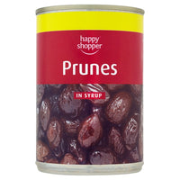 Happy Shopper Prunes in Syrup 420g (Drained Weight 235g)