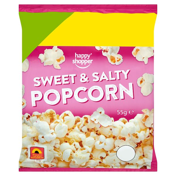 Happy Shopper Sweet & Salty Popcorn 55g