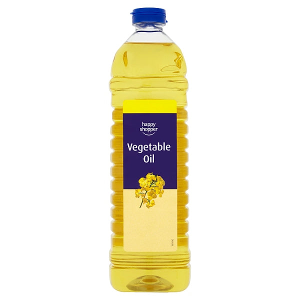 Happy Shopper Vegetable Oil 1 Litre