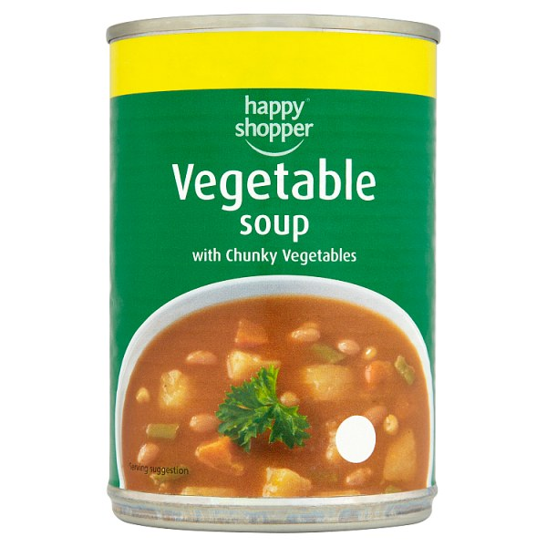 Happy Shopper Vegetable Soup with Chunky Vegetables 400g
