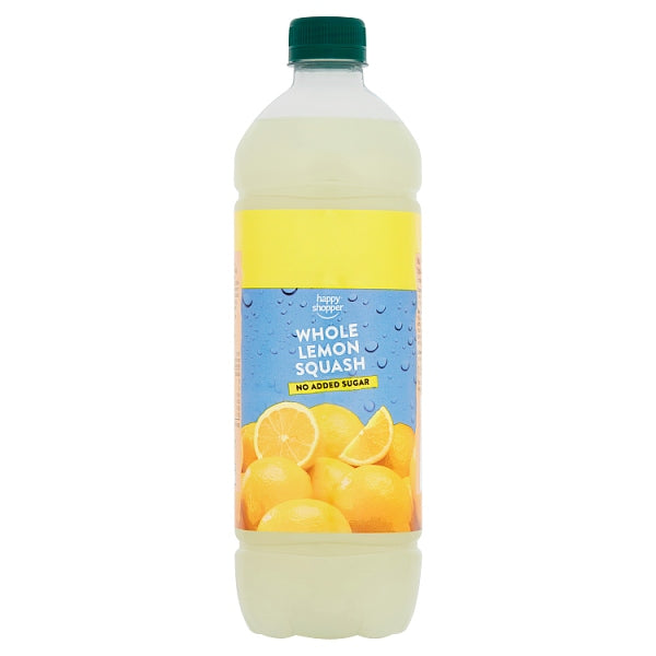 Happy Shopper Whole Lemon Squash 1 Litre
