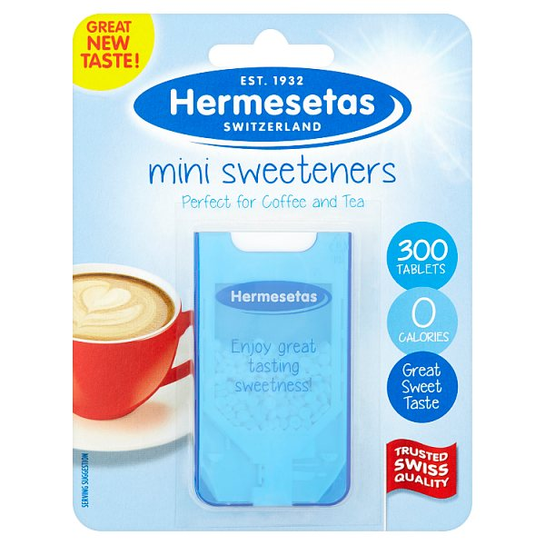 Hermesetas Mini Sweeteners 300 Tablets 4.2g
