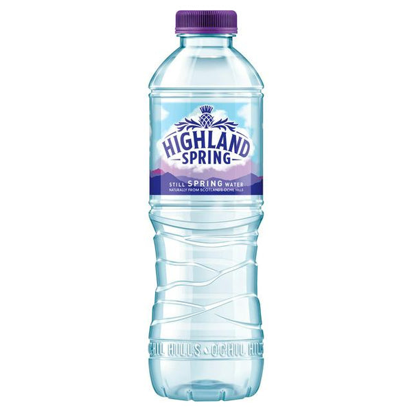 Highland Spring Still Spring Water 500ml
