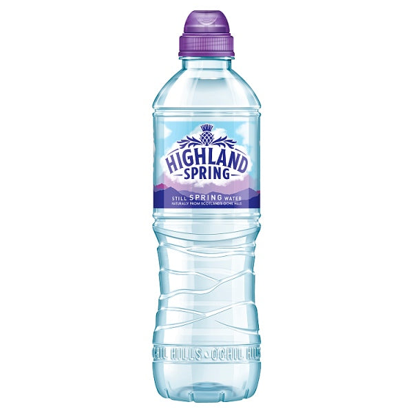 Highland Spring Still Spring Water Sports Cap 500ml