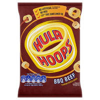 Hula Hoops BBQ Beef Flavour Potato Rings 34g