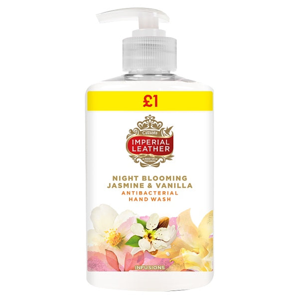 Imperial Leather Night Blooming Jasmine & Vanilla Infusions Antibacterial Hand Wash 300ml