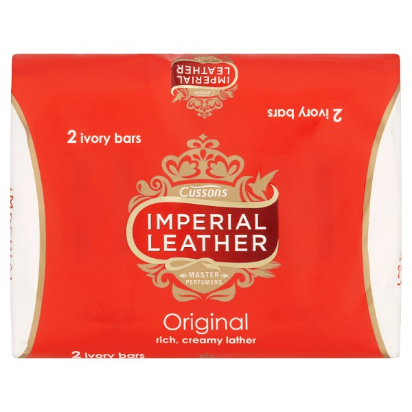 Imperial Leather Original Bar Soap 2 x 100g
