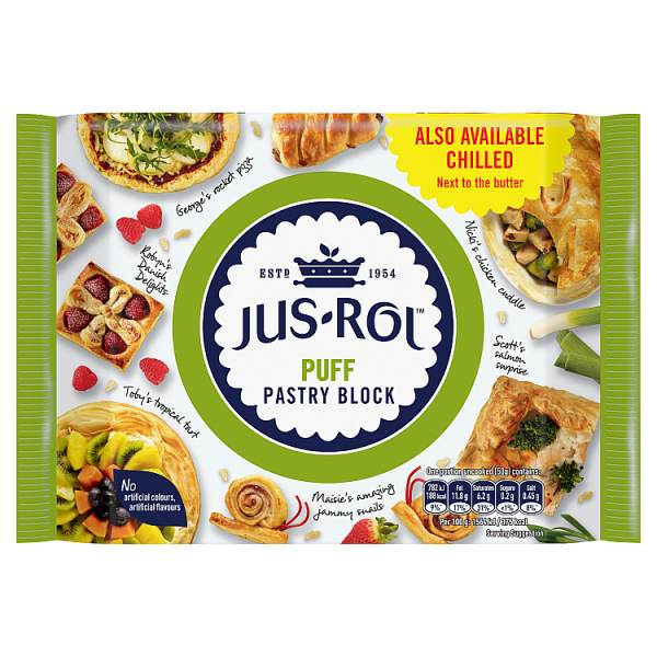 Jus rol Puff Pastry Block500g