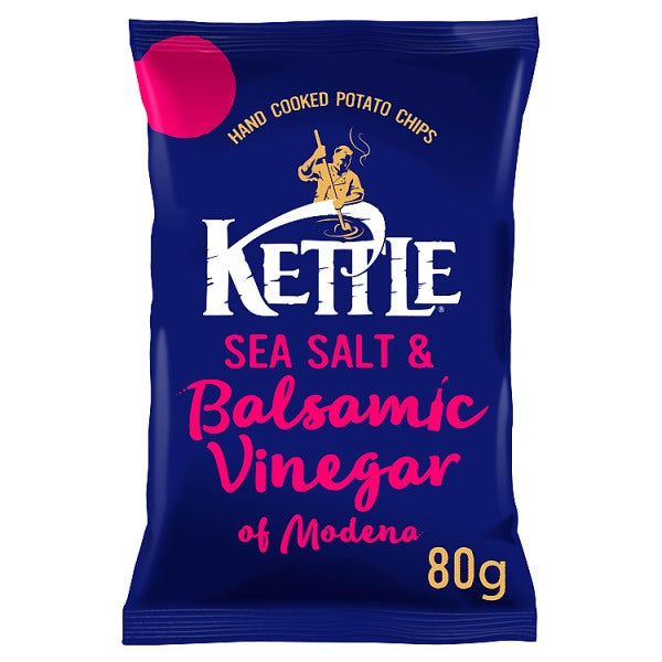 KETTLE® Sea Salt & Balsamic Vinegar of Modena 80g