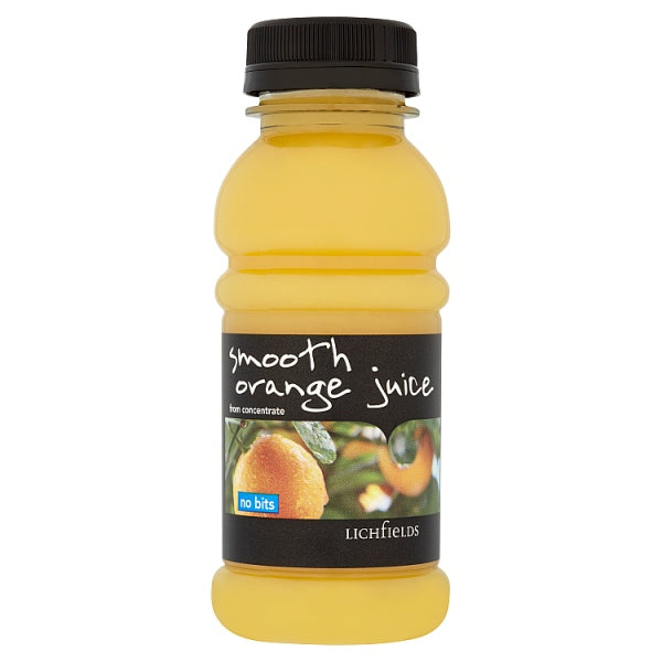 Lichfields Smooth Orange Juice from Concentrate No Bits 250ml