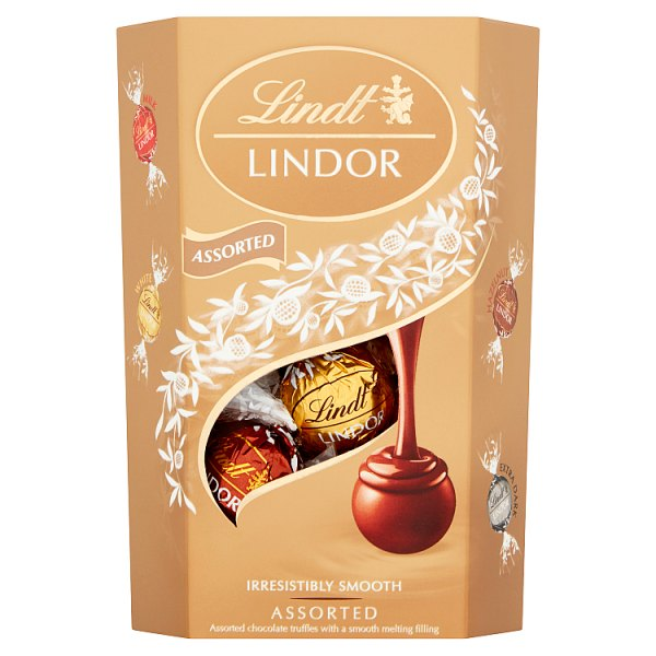 Lindt Lindsor Assorted Chocolate truffles box 200g